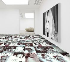 Custom floor graphics make anything possible when it comes to flooring.Use floor graphics to complete the unique look of your room or promote your business. Floor Graphics, Things To Think About, Things To Come, Smart Art, Digital Prints, Tile Floor, Tiles, Kids Rugs, Flooring