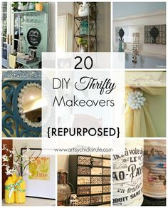 Thrifty makeovers that will spruce up your apartment!