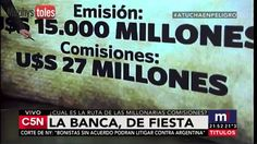 LA FIESTA INOLVIDABLE ENDEUDAMIENTO Y COMISIONES DE LA BANCA: CAPUTO Y P...