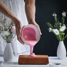 This pretty little loaf cake is lightly spiced with cardamom and cloves, perfumed with rosewater and covered in a delightful blood orange glaze.