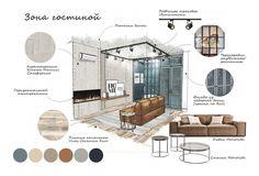 Portfolio Design Layouts, Layout Design, Design De Configuration, Interior Design Sketches, Interior Design Boards, Web Design, Portfolio Ideas, Mood Board Interior, Interior Design Magazine