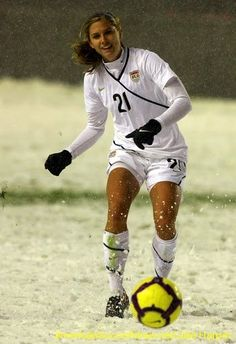 On March 31, 2010, Alex Morgan and the rest of the U.S. Women played Mexico in a friendly in Sandy, Utah. It was the team's first game in snow. The U.S. won 1-0.
