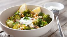 Loaded Broccoli Rice Bowls