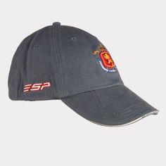 Gorra ESP Open Navy · Algodón peinado y prelavado · Incluye zona magnética y marcador de bola RFEG
