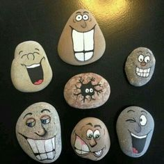 Easy Paint Rock For Try at Home (Stone Art & Rock Painting I.-Easy Paint Rock For Try at Home (Stone Art & Rock Painting Ideas) Rocks - Stone Crafts, Rock Crafts, Diy And Crafts, Crafts For Kids, Arts And Crafts, Homemade Crafts, Jar Crafts, Rock Painting Ideas Easy, Rock Painting Designs