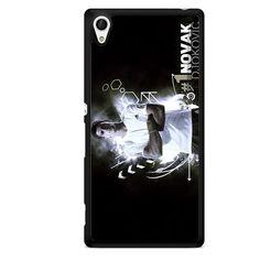 First Tennis Player Novak Djokovic TATUM-4229 Sony Phonecase Cover For Xperia Z1, Xperia Z2, Xperia Z3, Xperia Z4, Xperia Z5