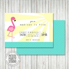 Hey, I found this really awesome Etsy listing at https://www.etsy.com/listing/186776648/pink-flamingo-theme-printable-birthday