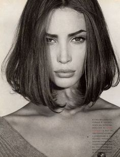 Hair inspiration from the 90s. This cut.