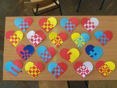 Játékos tanulás és kreativitás: Anyák napi ötlet: Szívszövés
