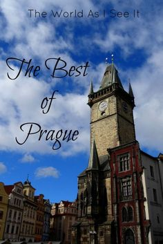 The Best of Prague  - Explore the World with Travel Nerd Nici, one Country at a Time. http://travelnerdnici.com