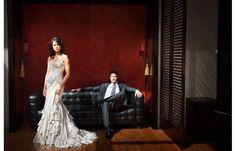 Stylish wedding photo by Studio Impressions, top Australia and destinatino wedding photographers