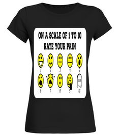 Dentist   Rate Your Pain t shirt birthday gift