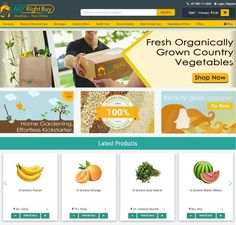 Online Grocery Shopping Chennai - MyRightBuy is the largest Online Organic store in Chennai offers Organic fruits and vegetables at the best price in Chennai.  https://www.myrightbuy.com/  #onlinegroceryshoppingchennai #myrightbuy