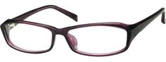 A wide size stylish plastic full-rim frame. New Glasses, Glasses Online, Affordable Glasses, Purple Themes, Four Eyes, Face Shapes, Eyewear, Stylish, My Style