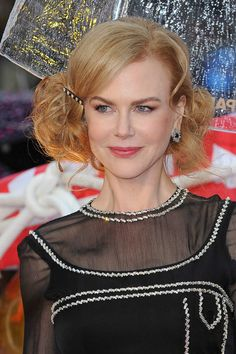 Hairstyle Of The Month: Nicole Kidman's Retro Faux Bob (click through to get the look)