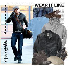 Ryan Reynolds, created by lsamsam on Polyvore