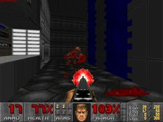 "Licensing: This is a screenshot of a game in the Doom series. The design and artwork depicted in the screenshot are under the copyright of id Software, its licensees, and/or its distributors, and are displayed here under ""fair use"". The creator of the screenshot claims no additional copyright on the composition of the image. It is believed that the use of such screenshots in the Doom Wiki qualifies as fair use because: No freely licensed alternative exists or could conceivably..."