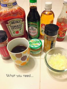 Check out our DIY Coffee BBQ Sauce. Perfect mixture of BBQ, spicy, and a hint of sweetness!