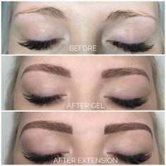 Eyebrow Before And After, Permanent Lipstick, Permanent Eyebrows, Eyebrow Extensions, Eyebrow Makeup Tips, Eyebrow Tinting, Makeup Eyes, Fibre Gel, Natural Eyebrows