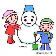 Gymles voor kleuters thema winter 2, kleuteridee