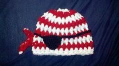 ARGH Matey Little Pirate Hat Newborn baby by BellaMariesboutique, $12.99