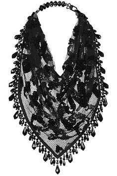 Louis Vuitton Beaded Scarf  2014 Spring-Summer