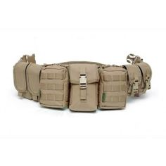 Padded Load Bearing Patrol Belt with Pouches
