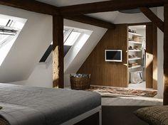 Investir les combles pour y créer une chambre (d'amis, d'enfant ou pourquoi pas une suite...