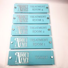when beauty is your business only these gorgeous signs will do corporate door signs with your - Office Door Signs