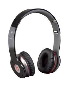 The Beats By Dre Solo HD black headphones will let you hear music as it was intended it to be heard. The Solo headphones were designed for Dr Dre so you can hear all the elements of a track with deeper bass and better clarity. The Beats By Dre Solo headp Sports Headphones, Beats Headphones, Over Ear Headphones, Beats Solo Hd, Beats By Dre, Cool Gadgets, Tech Accessories, Just In Case, Cool Things To Buy