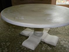 Vintage Ethan Allen Coffee Table by ThePaintedDrawer on Etsy, $185.00