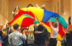 Teach Bible Stories... with a Parachute!
