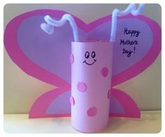 Mothers Day Butterfly on Days Out With Kids Blog  #kids #craft #mothersday