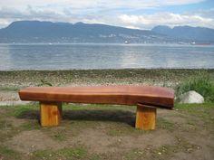 Reclaim Driftwood Bench
