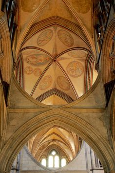 Salsbury Cathedral. Home to the Magna Carta and so much more. This is a must visit in England -Full article at vagrantsoftheworld.com