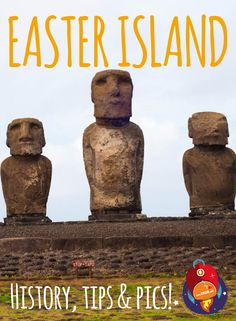 Let's travel around EASTER ISLAND!