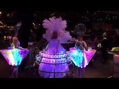 Amazing led skirt, hot sale led costume, #ledcostumes #leddress #leddancer #ledperformers #lightshows #eventos Led Costume, Costumes, Smart Materials, Laser Show, Led Dress, Stage Show, Dancer, Amazing, Hot