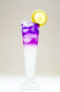 Make some color changing lemonade for a delicious and exciting edible science…