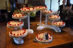 Cheescake wedding cake..epic. :-)