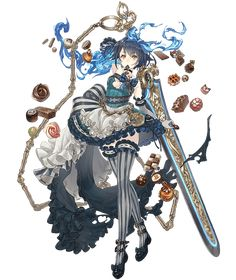 View an image titled 'Alice, Valentine Job Art' in our SINoALICE art gallery featuring official character designs, concept art, and promo pictures. Character Design Inspiration, Character Design, Character Illustration, Illustration Character Design, Game Character Design, Fantasy Character Design, Anime Warrior, Art, Anime Character Design