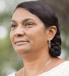 """Senator Nova Peris: """"British settlement was not foreign investment. It was occupation."""" Photo: Glenn Campbell  Read more: http://www.smh.com.au/federal-politics/political-news/tony-abbotts-comments-on-australia-being-unsettled-before-the-british-silly-says-warren-mundine-20140704-3bcjs.html#ixzz36aaXXEBp"""