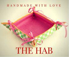 Make yourself a nice desk basket at The HAB by Usha