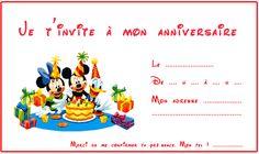 cartes invitation anniversaire enfants - seourpicz