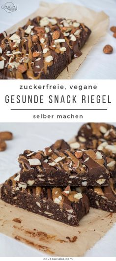 Healthy Sweet Snacks, Healthy Cake, Healthy Sweets, Vegan Baking, Healthy Baking, Low Carb Desserts, Vegan Desserts, Law Carb, Vegan Bar