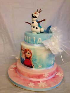 Frozen cake, chupa chups
