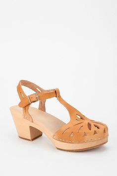 Swedish Hasbeens Lacy T-Strap Sandal #urbanoutfitters