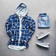WEBSTA @ timothykoh_ - Remix grid w/ @johnjunglee. #outfitgridShirt: @fearofgod 4th Collection FlannelHoodie: @acnestudios Johna hoodieTee: @rickowensonline l/s Levels teeDenim: @apc_paris x Kanye Stonewash denimSneakers: @adidas Yeezy Boost 350 Turtle Dove