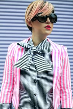 Stripes Trend 2014 - Mexican Fashion Blog Nancy Nannuck #stripes