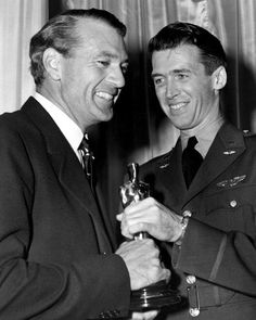 Gary Cooper and Jimmy Stewart