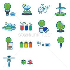 Various recycle and environmental icons vector illustration , How To Use Photoshop, Photoshop Actions, Clip Art, Kids Rugs, How To Get, Illustration, Vectors, Icons, Design